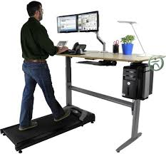 Computer Desk Treadmill Stand Up Desk Treadmill Best Illustration Walk While You Work With