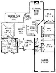 Floor Plan For Office Plan 20095ga Spectacular Home For The Large Family Sitting Area