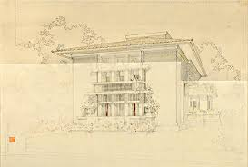 figge art museum frank lloyd wright the bogk house drawings