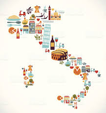 Pisa Italy Map by Italy Map With Vector Icons Stock Vector Art 164111730 Istock