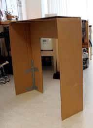 cation designs diy cardboard faux fireplace