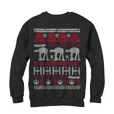 star wars men u0027s christmas sweater sweatshirt