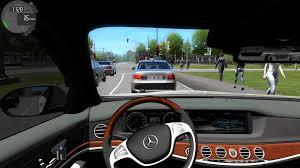 mercedes city car city car driving 1 4 mercedes s500 w222