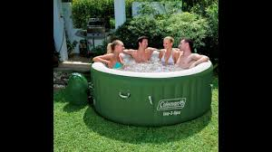 Coleman Backyards Coleman Lay Z Spa Tub Review
