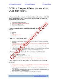 Netstat Flags Ccna 1 Chapter 6 Exam Answer V5