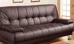 Large Sleeper Sofa Sofa Brown Leather Sleeper Sofa Trendy Dark Brown Leather