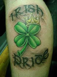 30 irish pride tattoos designs and pictures ideas