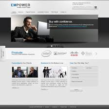 free templates for business websites empower free psd template by ahmadhania on deviantart