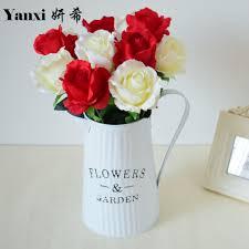 Artificial Flower Decorations For Home Kitchen Flower Arrangements Promotion Shop For Promotional Kitchen