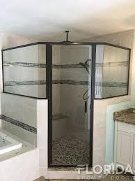 semi frameless enclosures florida shower doors manufacturer