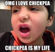 Chipotle Memes - omg i love chickpea chickpea is my life chipotle kid meme generator
