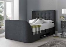 bed frames u0026 divan bases with built in tv stand ebay