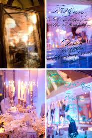 wedding reception decor idea mirrors vintage glam weddings 2