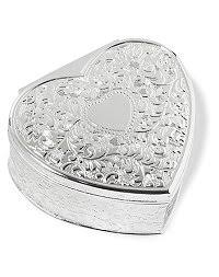 jewelry box favors wedding favors personalized heart trinket box