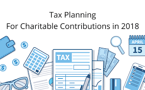 will rmd to charity 2015 tax planning for charitable contributions in 2018 annex wealth