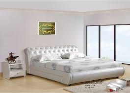 Popular Modern Leather Bedroom SetsBuy Cheap Modern Leather - Modern white leather bedroom set