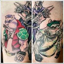 tmnt bad guys tattoo tattoos pinterest guy tattoos tattoo