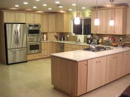 Maple Kitchen Cabinets Modern Maple Kitchen Cabinets Birch Maple And Bamboo Kitchens
