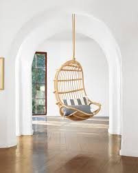 Swingasan Cushion by Hanging Rattan Chair Chairs Serena And Lily