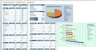 Excel Home Budget Template Household Budget Templates Excel Thebridgesummit Co