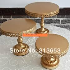 gold wedding cake stand online shop new arrival luxury antique gold metal cake plate stand