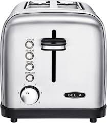 Bella Linea 4 Slice Toaster Bella Classics 2 Slice Wide Slot Toaster Silver Bla14466 Best Buy