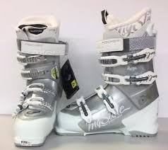 womens size 9 in ski boots fischer my style 7 womens ski boots white silver size 9 mondo