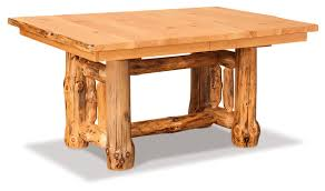 cedar dining room table kitchen dining dutchman log furniture