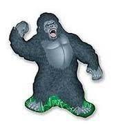 gorilla balloon gorilla king kong jungle zoo safari figure 34