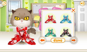 kitty dress up kids games android apps on google play