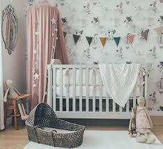 ambiance chambre b b fille chambre bébé fille du et gris pour un thème féerique