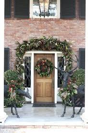 doorway garland how to attach your front door around