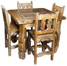 Square Bistro Table Ox Yoke Square Bistro Table