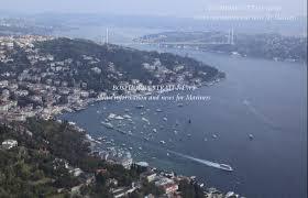 Bosporus Strait Map Bosphorus Strait