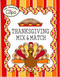 kb konnected thanksgiving clip borders and freebie