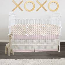 Pink And Gold Nursery Bedding Crib Bedding Sets Archives Luxey Little Ones
