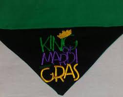 diy mardi gras bead bandana mardi gras dog etsy