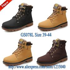 2015 new oxfords brand shoes men boots leather martin cowboy