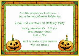halloween birthday invitations for twins