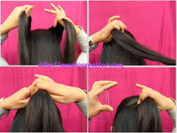 a simple bow hairstyle for medium long hair u2013 my glossy affair