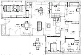 plan etage 4 chambres plan maison en l 4 chambres architectures plan plan la plan plan