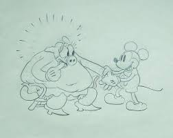 ferguson norman original drawing mickey mouse the whoopee