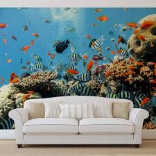 28 fish wall murals popular wall murals fish buy cheap wall fish wall murals sea ocean fish corals wall mural for your home buy at