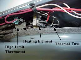 replacing la1053 thermal dryer fuse appliance aid