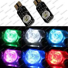 2x high power 3w rgb multicolor led bulb parking lights t10 194 168