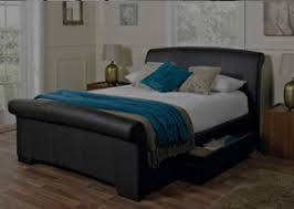 faux leather beds u0026 ottoman beds luxury style u0026 comfort
