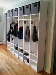 entryway cubbies 37 awesome ikea billy bookcases ideas for your home digsdigs