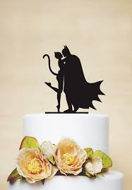 batman wedding cake toppers batman and cake topper custom cake topper wedding