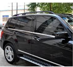 mercedes gl accessories aliexpress com buy 6pcs stainless steel car window molding trim