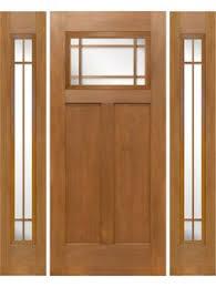 9 Lite Exterior Door Entry Doors Mission Style Mahogany Craftsman Style Marginal 9